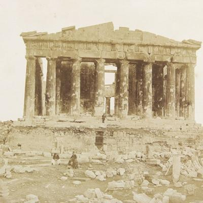 View of the Parthenon from the West
