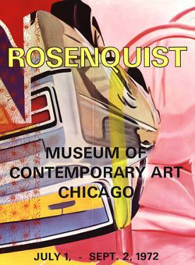Museum of Contemporary Art Chicago by James Rosenquist
