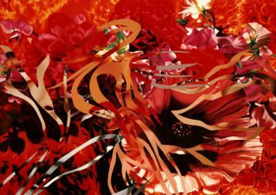 Pearls before Swine, Flowers before Flames by James Rosenquist