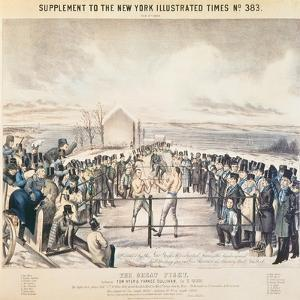 The Great Fight Between Tom Hyer and Yankee Sullivan, 1849 by James S. Baillie