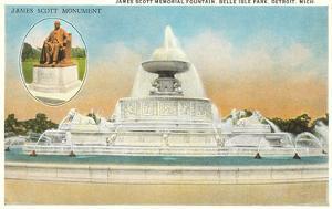 James Scott Fountain, Belle Isle, Detroit, Michigan