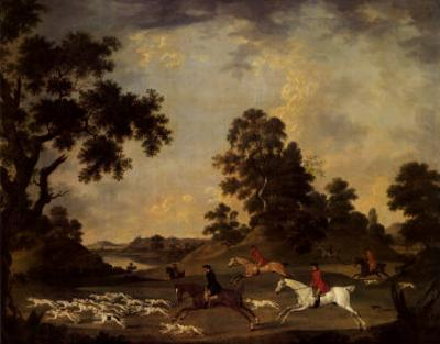 Fox Hunting in Full Cry by James Seymour