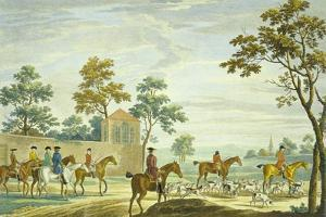 Going Out in the Morning, Engraved by P.C. Canot by James Seymour