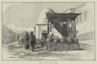 Sketch at the Fair, Old Cairo
