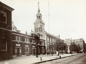 Independence Hall, Chestnut Street, South Side Between 5th and 6th Streets, 1898 by James Shields