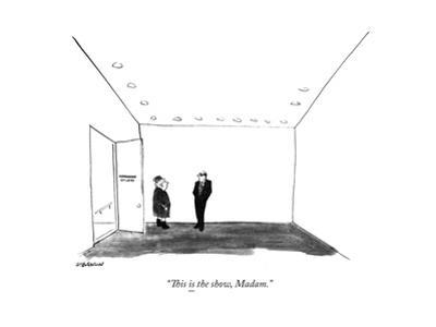 New Yorker Cartoon by James Stevenson