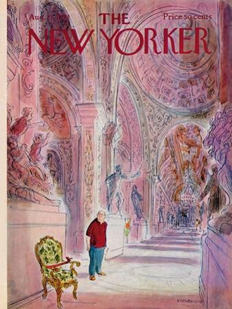 The New Yorker Cover - August 21, 1971 by James Stevenson