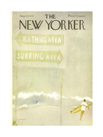 The New Yorker Cover - August 23, 1976