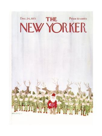 The New Yorker Cover - December 24, 1973
