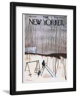 The New Yorker Cover - January 5, 1963 by James Stevenson