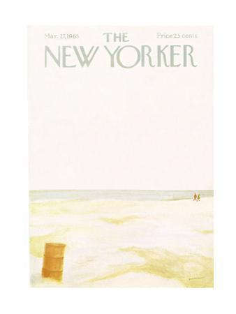 The New Yorker Cover - March 27, 1965 by James Stevenson