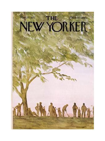 The New Yorker Cover - May 20, 1972