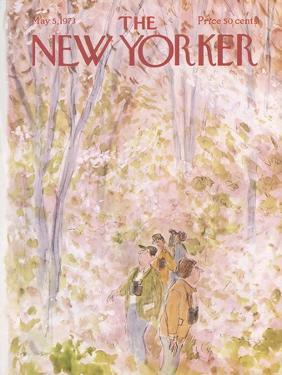 The New Yorker Cover - May 5, 1973 by James Stevenson