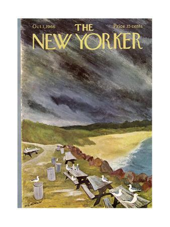 The New Yorker Cover - October 1, 1966 by James Stevenson