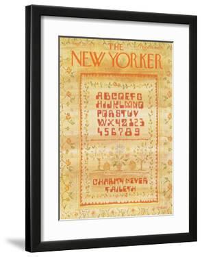 The New Yorker Cover - September 10, 1973 by James Stevenson