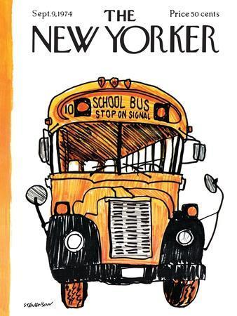 The New Yorker Cover - September 9, 1974