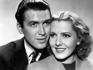 James Stewart and Jean Arthur Mr. SMITH GOES TO WASHINGTON, 1939 directed by FRANK CAPRA (b/w photo