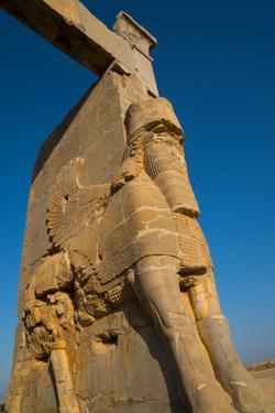 All Nations Gateway, Persepolis, UNESCO World Heritage Site, Iran, Middle East by James Strachan
