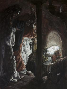 Adoration of the Wise Men by James Tissot