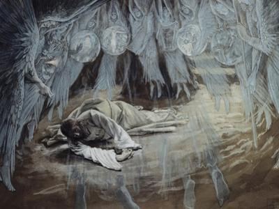 Agony in the Garden by James Tissot