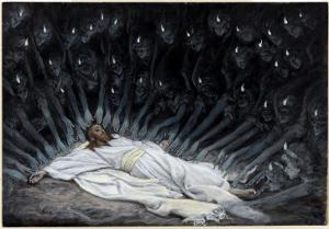 Angels Came and Ministered Unto Him, Illustration for 'The Life of Christ', C.1886-94 by James Tissot