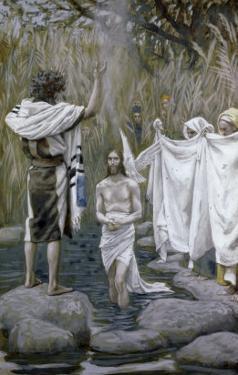 Baptism of Jesus by James Tissot