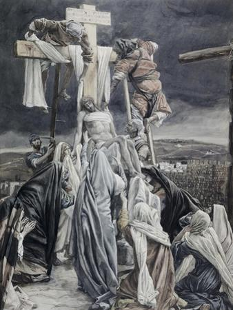 Descent from the Cross by James Tissot