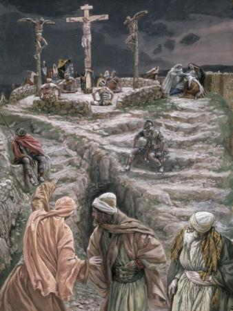 Eloi Eloi Lama Sabacthani, Illustration for 'The Life of Christ', C.1884-96 by James Tissot
