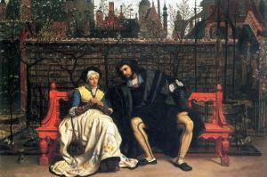 Faust and Marguerite In The Garden by James Tissot