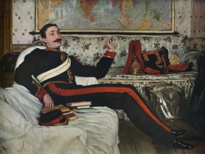 'Frederick Gustavus Burnaby', 1870 by James Tissot