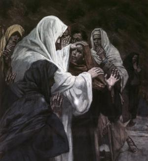 He That Has Seen Me, Has Seen the Father by James Tissot