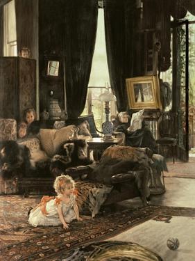 Hide and Seek, circa 1880-82 by James Tissot
