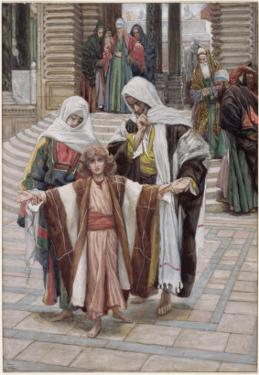Jesus Found in the Temple, Illustration for 'The Life of Christ', C.1886-94 by James Tissot