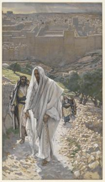 Jesus Goes in the Evening to Bethany by James Tissot
