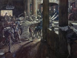 Jesus Taken Before Annas by James Tissot