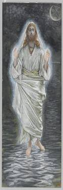 Jesus Walks on the Sea, Illustration from 'The Life of Our Lord Jesus Christ' by James Tissot