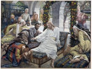 Mary Magdalene's Box of Very Precious Ointment, Illustration for 'The Life of Christ', C.1886-96 by James Tissot