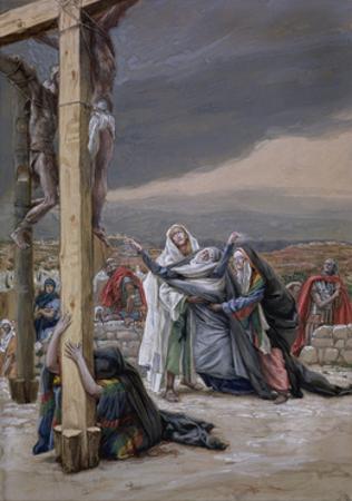 Mater Dolorosa, Illustration for 'The Life of Christ', C.1884-96 by James Tissot