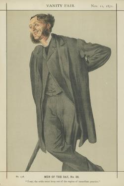 Mr Matthew Arnold by James Tissot