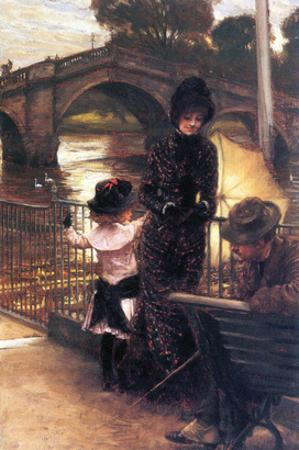 Richmond on the Thames by James Tissot