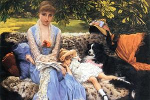 Silence by James Tissot