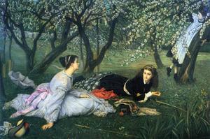 Springtime by James Tissot
