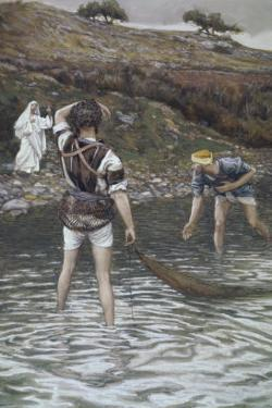 The Calling of Peter and Andrew by James Tissot