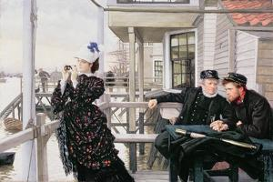 The Captain's Daughter by James Tissot