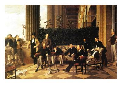 The Circle of the Rue Royale by James Tissot