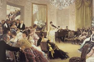 The Concert by James Tissot