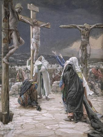 The Death of Jesus, Illustration for 'The Life of Christ', C.1884-96 by James Tissot
