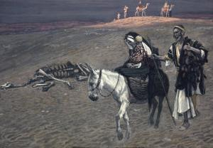 The Flight into Egypt by James Tissot