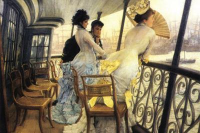 The Gallery of the H.M.S. Calcutta by James Tissot