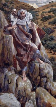 The Good Shepherd, Illustration for 'The Life of Christ', C.1886-94 by James Tissot